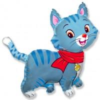 Милый котенок (голубой)