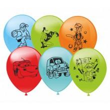10 шариков с рисунком ДЛЯ МАЛЬЧИКА
