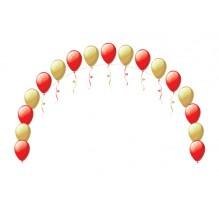 Цепочка из шаров (за метр)