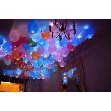 500 светящихся шаров