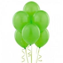 25 светло-зеленых шаров