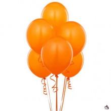 """10 шариков с обработкой """"оранжевые"""""""