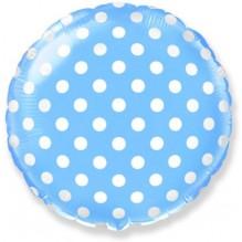 Горох (Голубой) / Dots Blue