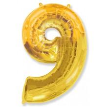 Девять (золото)