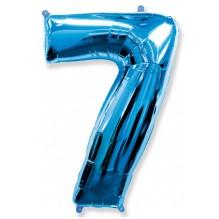 """Цифра """"7"""" синий / Seven"""