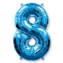 "Цифра ""8"" синий / Eight"