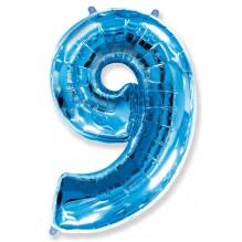 """Цифра """"9"""" синий / Nine"""