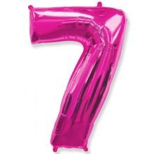 """Цифра """"7"""" фуксия / Seven"""