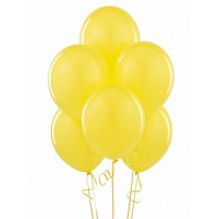 25 желтых шаров
