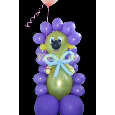 Ёжик с шариком