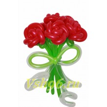 """Букет """"Красные розы"""" 7шт."""