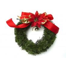 Натуральный рождественский венок