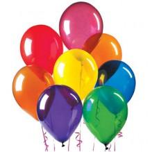 10 разноцветных шариков с обработкой