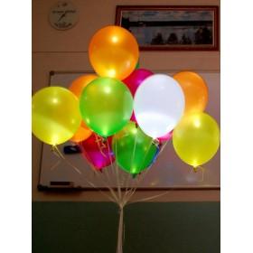 10 светящихся шаров С обработкой