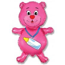 Медвежонок девочка (фуксия) / Bear girl