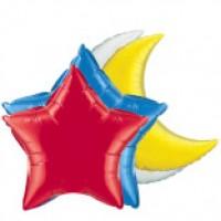 Фольгированные шары однотонные