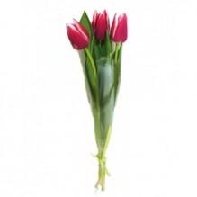 букет из 3 тюльпанов