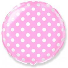 Горох (Розовый) / Dots Pink