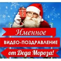 Именное Видеопоздравление от Деда Мороза для одного ребенка