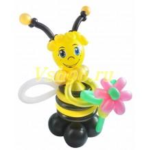 Пчелка с цветочком