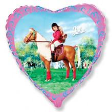 Джули на лошади /Julie Horse