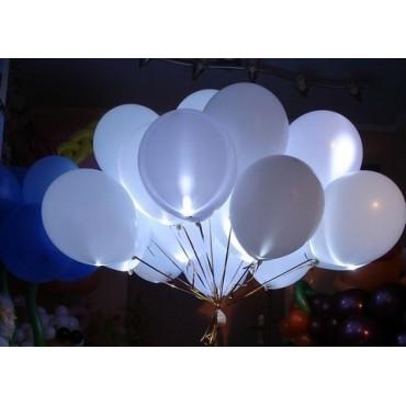 100 светящихся шаров на запуск