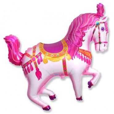 Нарядная лошадь (фуксия) / Horse Circus