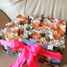 Мега-цветочная коробка