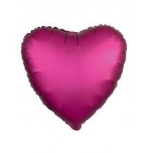 ХИТ Сердце Гранат Сатин Люкс  / Satin Luxe Pomegranate Heart S15