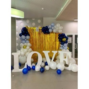 Объемные буквы LOVE в аренду