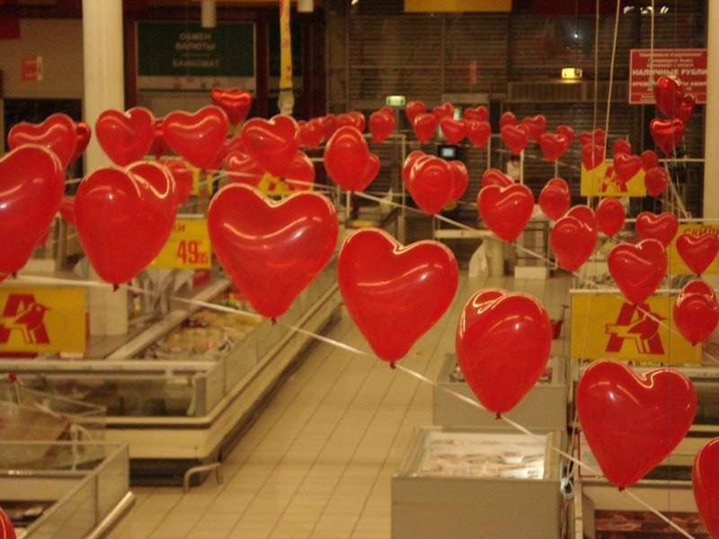 купить воздушные шарики в Екатеринбурге